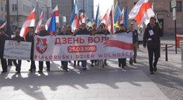 Białoruski Dzień Wolności w Warszawie