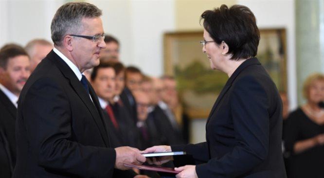 Bronisław Komorowski powołał nowy rząd. Życzę odwagi i rozwagi