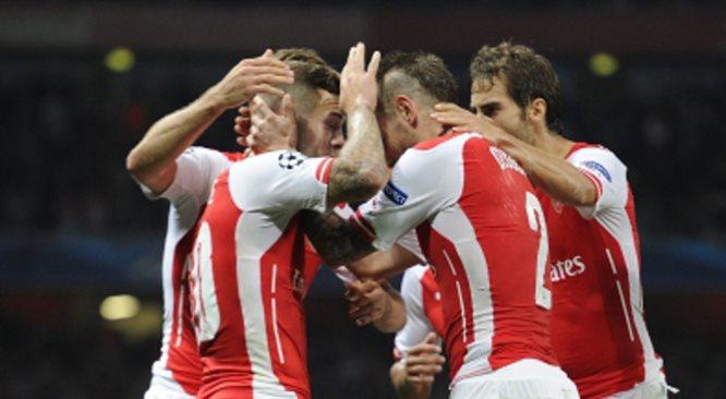 Liga Mistrzów: awans Arsenalu, udany wieczór Polaków