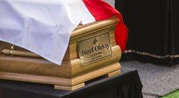 Pogrzeb Józefa Oleksego na warszawskich Powązkach