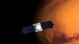 Kometa przelatuje naprawdę blisko Marsa