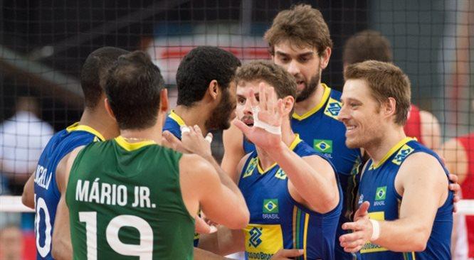 MŚ siatkarzy: Brazylia gromi. Polska powalczy o półfinał z Rosją [19. DZIEŃ MISTRZOSTW]