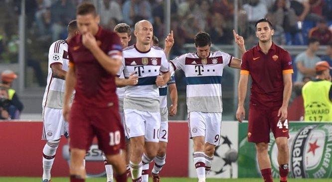 Liga Mistrzów: Bayern zdemolował Romę, niebywały Szachtar. Aż 40 goli w ośmiu meczach [MULTIRELACJA]