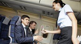 Stewardessa ma wakacje cały rok