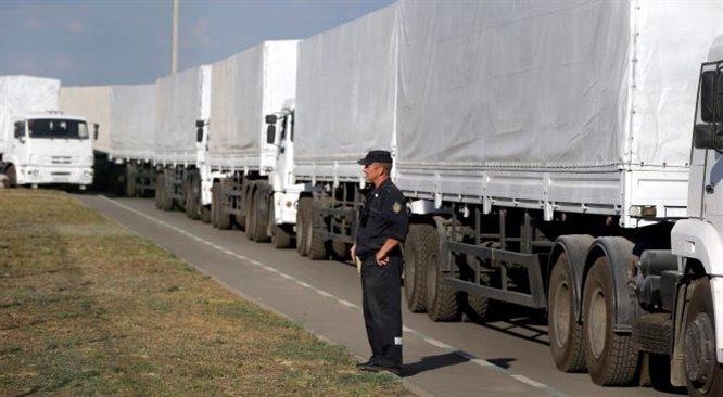 Biały Dom i Berlin o konwoju: Rosja naruszyła suwerenność Ukrainy