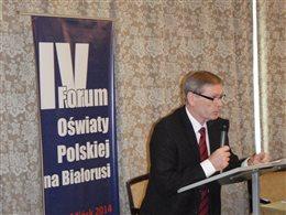 IV Forum Oświaty Polskiej w Mińsku
