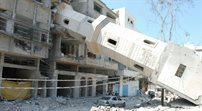 Zbombardowany meczet Susi w Gazie - fotorelacja Wojciecha Cegielskiego