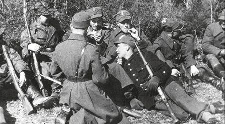 Żołnierze 27 Wołyńskiej DP AK.