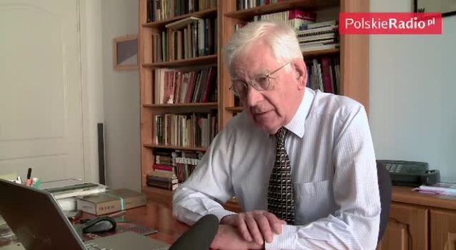 """Prof. Zdzisław Najder mówi o znaczeniu w twórczości Herberta pojęć """"ojczyzna"""" i """"naród"""""""
