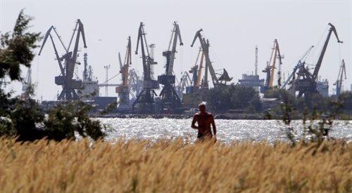 Trwa ofensywa prorosyjskich wojsk w stronę portu, Mariupola