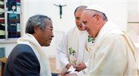 Papież ochrzcił ojca jednej z ofiar katastrofy promu Sewol