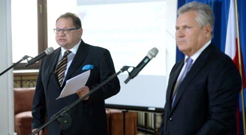 I prawica i lewica krytykują Aleksandra Kwaśniewskiego