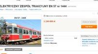 Pociąg Przewozów Regionalnych na Allegro: nie było chętnych