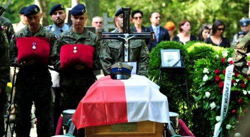 Szczecin: pogrzeb żołnierza zabitego w Afganistanie