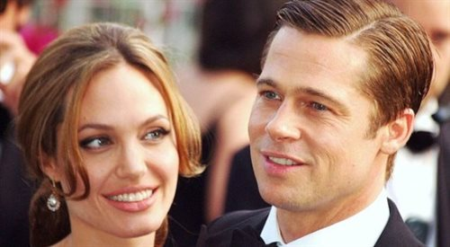 Popularni aktorzy Angelina Jolie i Brad Pitt wzięli ślub