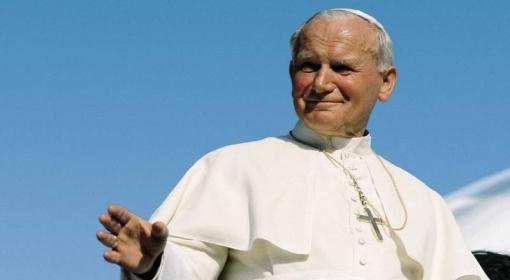 Papież podczas pielgrzymki do Argentyny w 1987 roku.