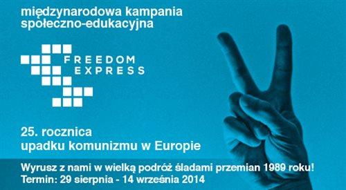 Freedom Express przyjechał do Warszawy