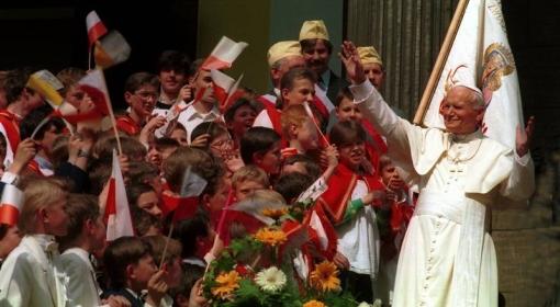 Dziękujemy za Jana Pawła II