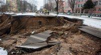 Osuwisko w Ostrowcu zbadają geologowie