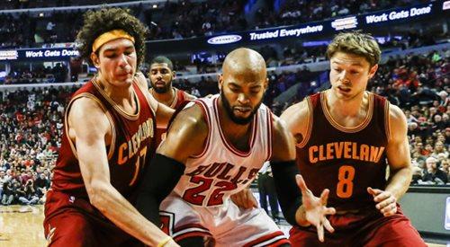 NBA: LeBron wraca do formy, Cavaliers wygrywają z Chicago Bulls
