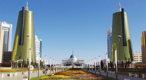 Astana - azjatyckie wietrzne miasto