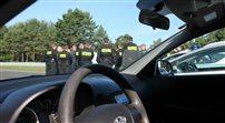 Tak polska policja uczy się ścigać bandytów
