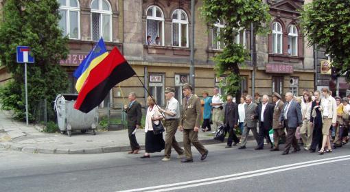 Marsz weteranów UPA w Przemyślu , foto: fot.Wikipedia
