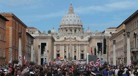 Uroczystości beatyfikacyjne w Rzymie