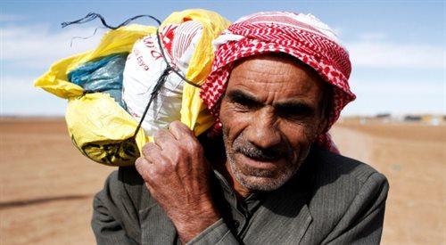 Życie uchodźców z Bliskiego Wschodu