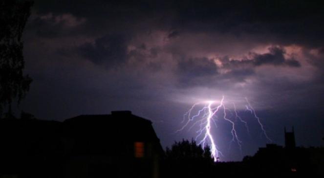 Gwałtowna burza przeszła nad Małopolską