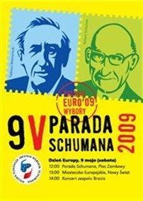 Parada Schumana w urodziny Europy