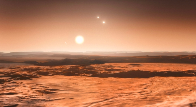 The three new super-Earths. Maybe there's life