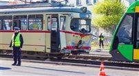 Zderzenie trzech tramwajów w Poznaniu. Kilkudziesięciu poszkodowanych