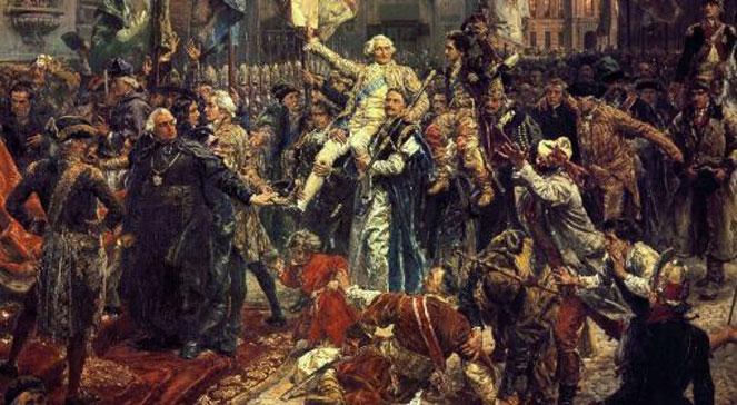 Konstytucja 3 maja - dzieło oświeconych                     monarchistów