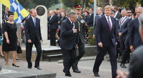 Komorowski: ofiara polskich spadochroniarzy nie poszła na marne