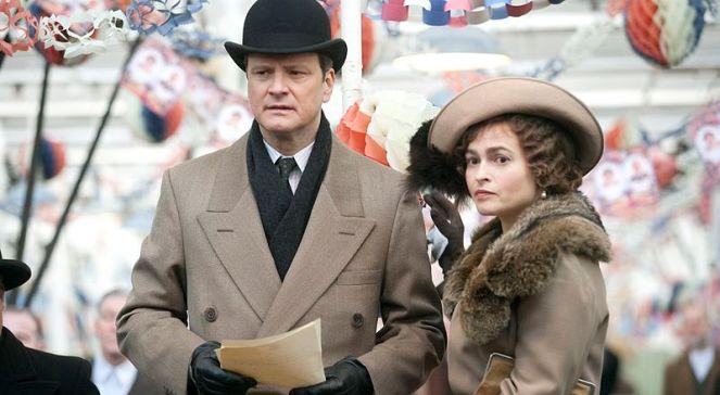 Colin Firth and Helena Bonham Carter w filmie Jak zostać królem