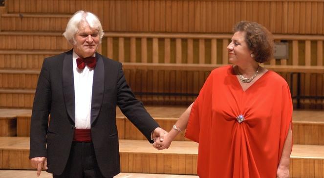 Ewa Podleś i Jerzy Marchwiński (koncert z okazji 70-lecia Profesora w UMFC)