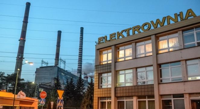 Elektrownia Kozienice, w której w wyniku zarwania platformy w jednym z kominów zginęły cztery osoby