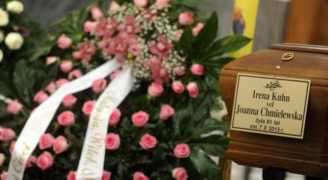 Pogrzeb Joanny Chmielewskiej