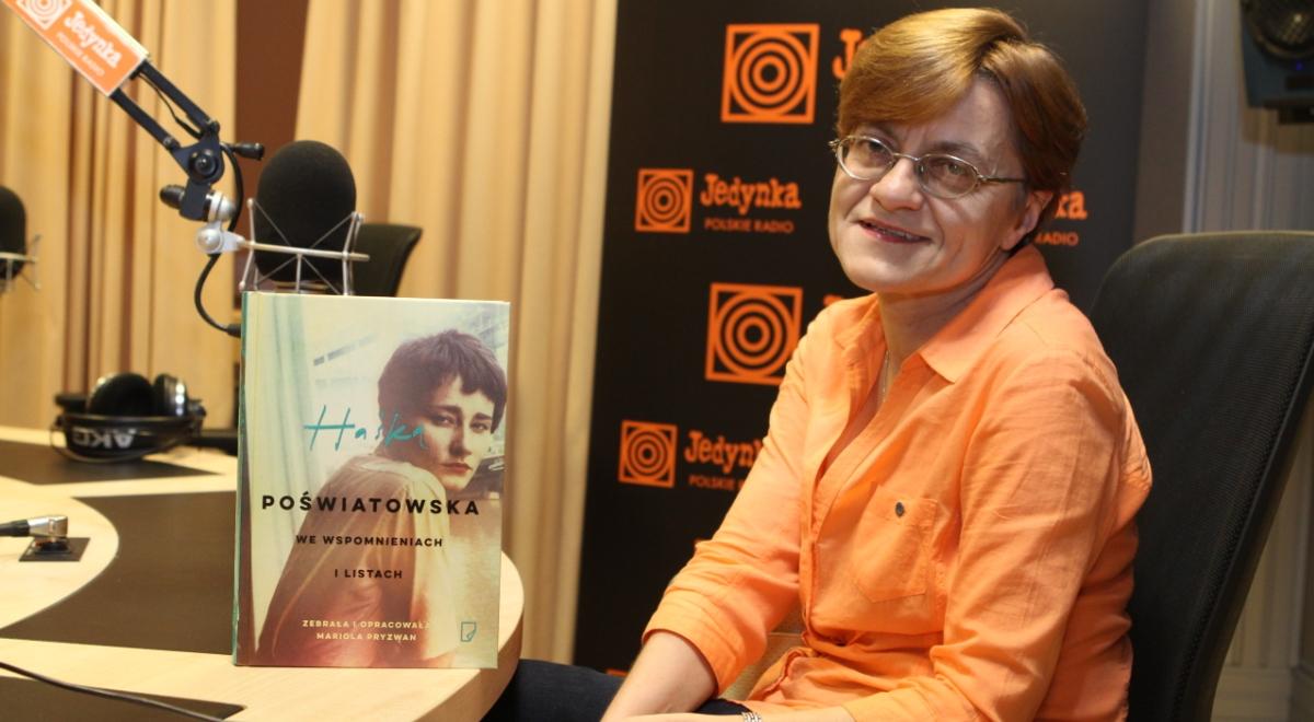 Mariola Pryzwan, autorka biografii m.in. Haliny Poświatowskiej (Przeboje Przyjaciół Radiowej Jedynki)