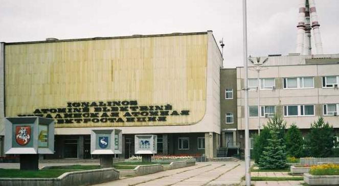 Budynek elektrowni w Ignalinie