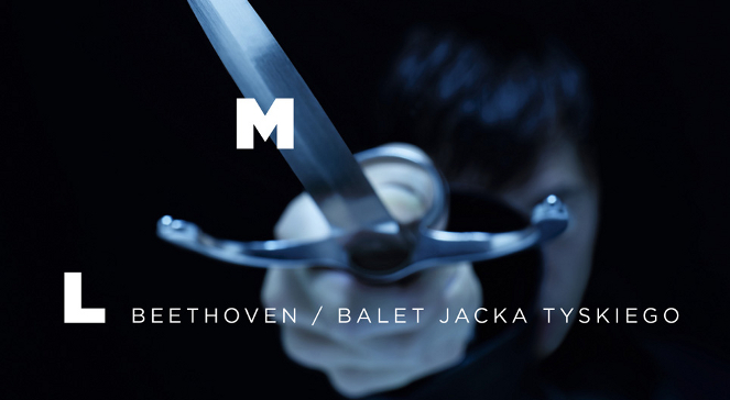Plakat baletu Hamlet