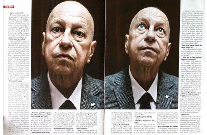 Jerzy Stuhr: nie poddałem się, zbieram siły