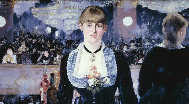 Edouard Manet, Bar w Folies-Bergre (fragment obrazu)