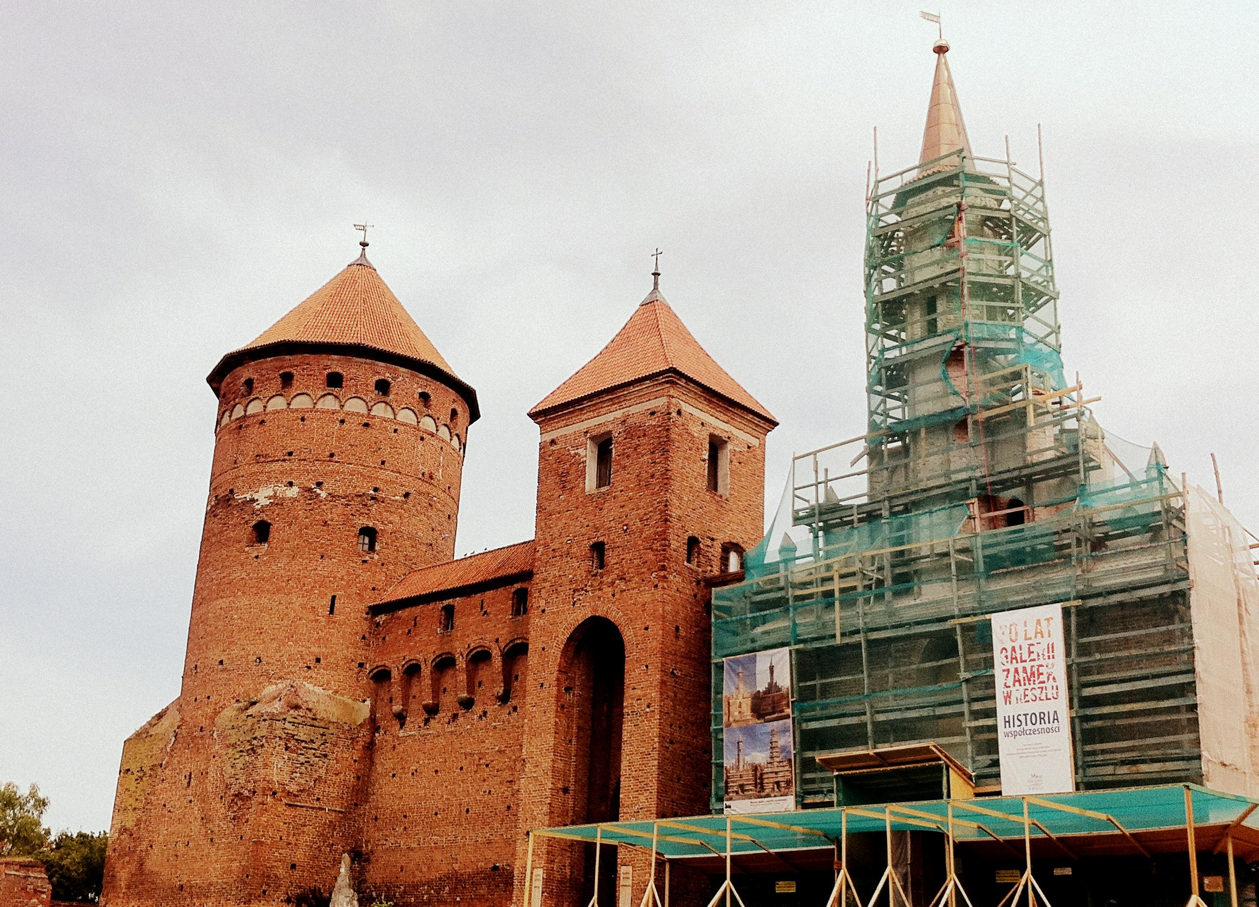 Zamek w Reszlu (fot. N. Grzeszczyk)