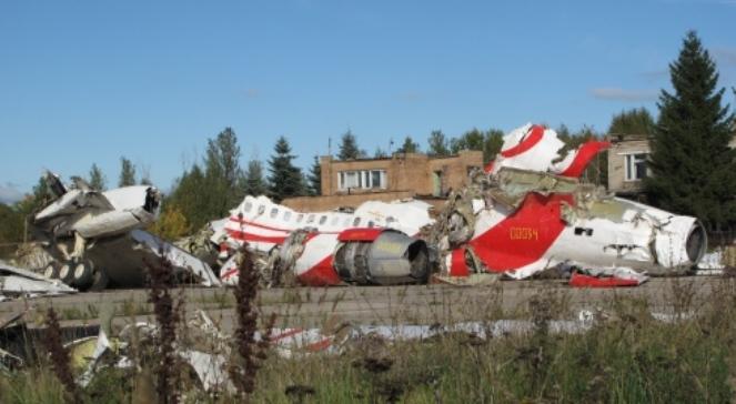 Wrak TU-154, który rozbił się pod Smoleńskiem 10 kwietnia 2010 roku