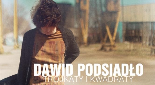 Dawid Podsiadło, fragment okładki Trójkąty i kwadraty