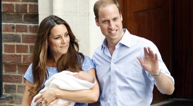 Royal baby. Księżna Kate, książę William i ich syn