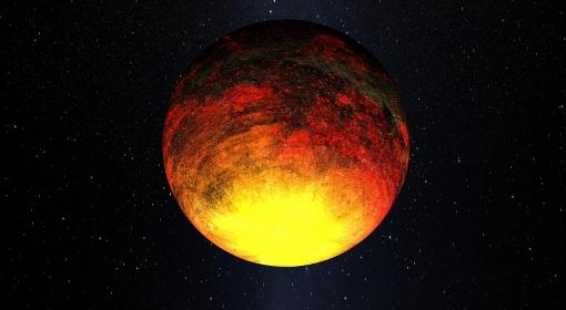 Planeta Kepler 10b, wizja artystyczna