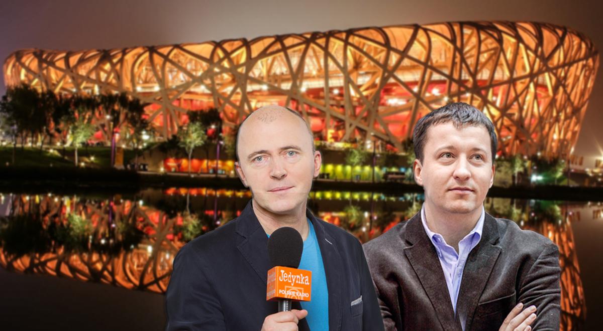 Cezary Gurjew (L) i Rafał Bała zapraszają na relacje z Lekkoatletycznych Mistrzostw Świata w Pekinie na antenie Radiowej Jedynkki